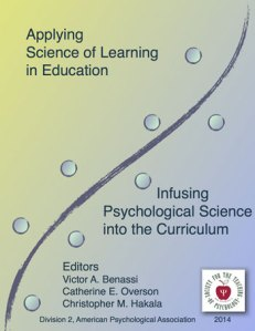 Applying Science of Learning in Education asle2014